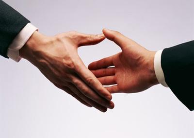 poignée de mains trouvez un diagnostiqueur immobilier